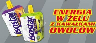 Żel energetyczny Isostar