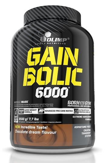 1a9716b01d6b OLIMP Gain Bolic 6000 3500g + Shaker GRATIS Odżywki Gainer OLIMP
