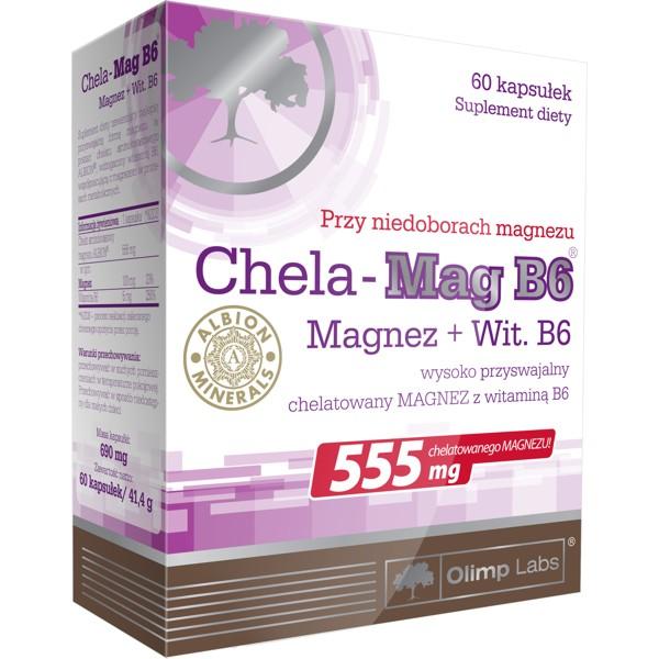 Olimp chela mag b6 60 kap sklep witaminy i minera y for Magnez w tabletkach