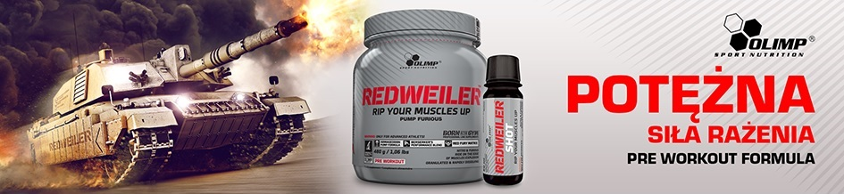 Olimp RedWeiler doskonała odżywka przed treningiem