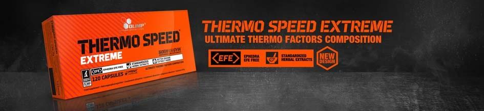 Doskonały reduktor tłuszczu Thermo Speed firmy Olimp Nutrition