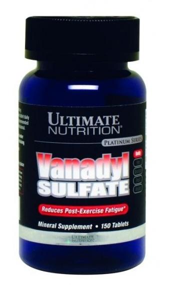 klasyczny wysoka jakość całkiem tania ULTIMATE Vanadyl Sulfate 75 tab. Pozostałe suplementy ULTIMATE