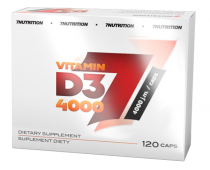 7NUTRITION Vitamin D3 4000g 120 kap.