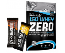 BIO TECH USA Iso Whey Zero 500g + baton Zero Bar 50g