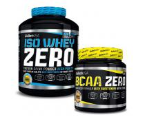 BIO TECH USA Iso Whey Zero 2270g + BCAA Flash Zero 360g GRATIS