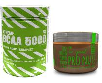FITNESS AUTHORITY BCAA 5000 400g + Pro Nuts Butter 450g