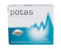 NATURELL Potas 100 tab.
