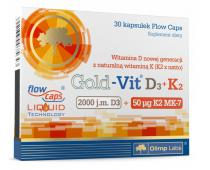 OLIMP Gold Vit D3 + K2 30 kap