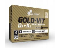 Olimp Gold Vit D3 + K2 Sport Edition 60 kap.