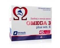 OLIMP Omega 3 Plus witamina E 120 kap.
