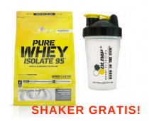 OLIMP Pure Whey Isolate 95 1800g + Shaker GRATIS