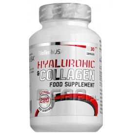 BIO TECH USA Hyaluoronic & Collagen 30 kap