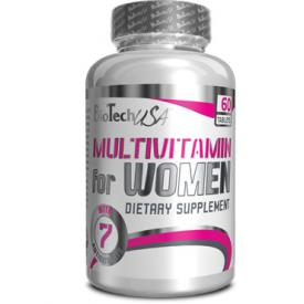 BIO TECH USA Multivitamin for Women 60 tab.