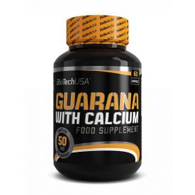 BIO TECH USA Guarana + Calcium 60 kap