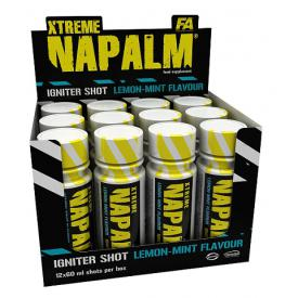 FITNESS AUTHORITY Napalm Shot 12 x 60 ml