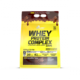 OLIMP Whey Protein Complex 100 % Double Chocolate 2270g