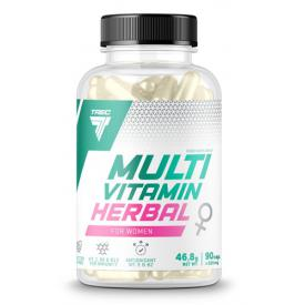 TREC Multivitamin Herbal for Women 90 kap