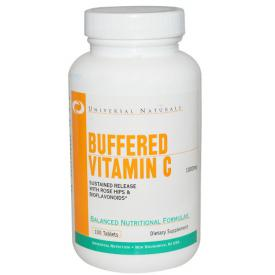 UNIVERSAL Buffered Vitamin C 100 tab.