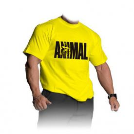 UNIVERSAL T-Shirt ANIMAL żółty